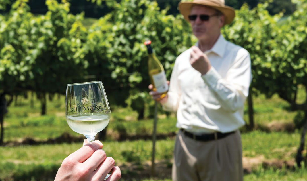 Discover Biltmore white wines for outdoor entertaining