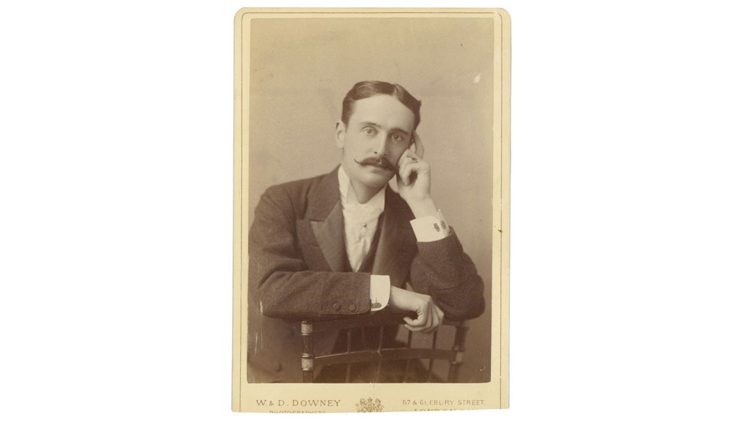 Photo of George Vanderbilt's cousin Clarence Barker