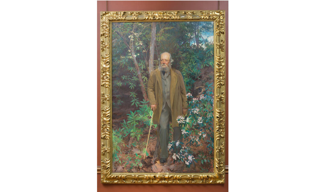 John Singer Sargent portrait of Frederick Law Olmsted