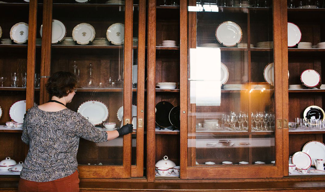 Preserving generations of Biltmore china and crystal