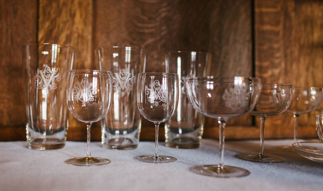 Caring for a fragile part of Biltmore history--crystal glassware