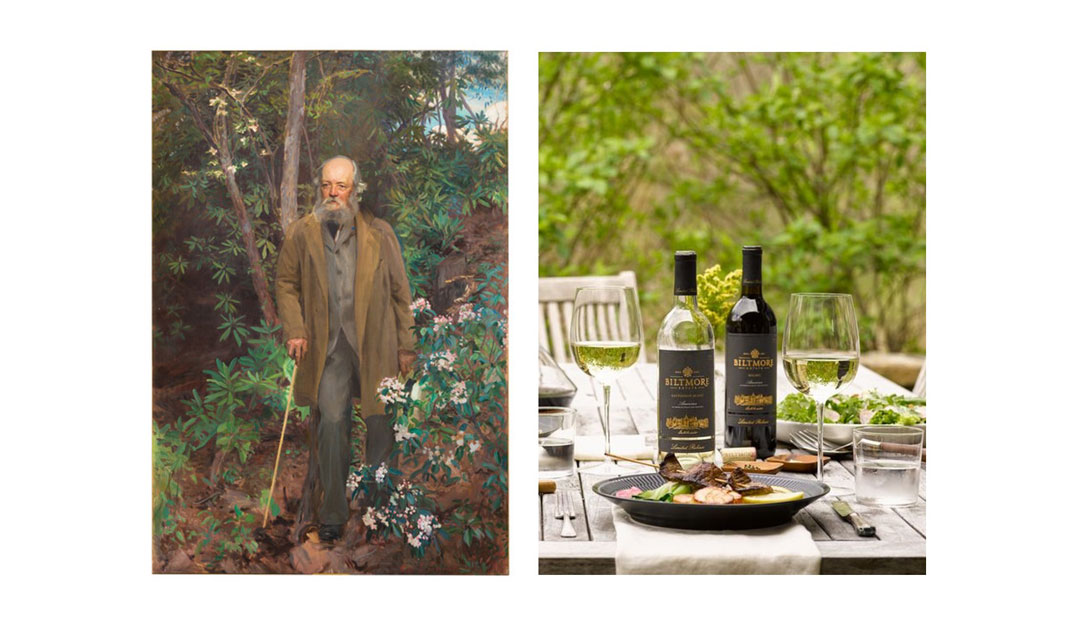Frederick Law Olmsted and Biltmore wine