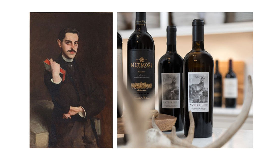 George Vanderbilt as a thoughtful collector of wine