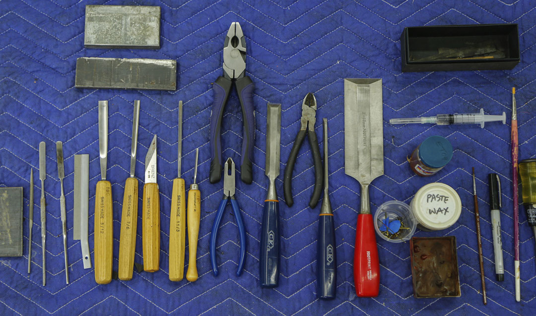 Conservator's tools