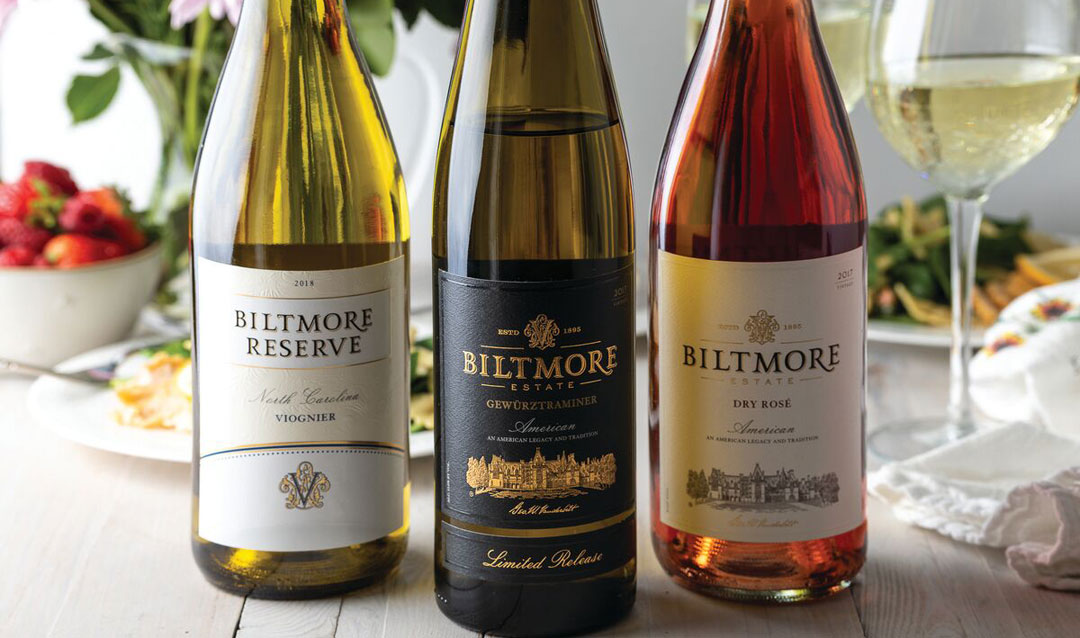 Biltmore wines and spring gift ideas