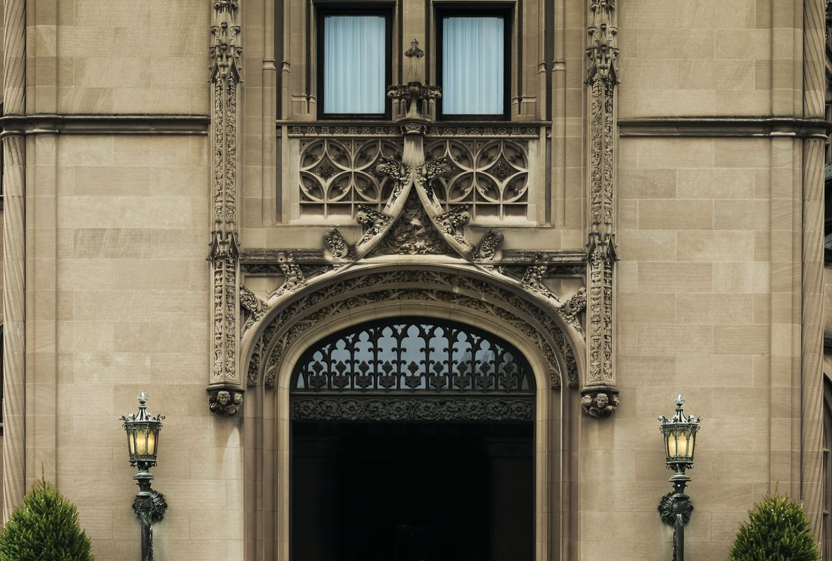 Architectural details of Biltmore House