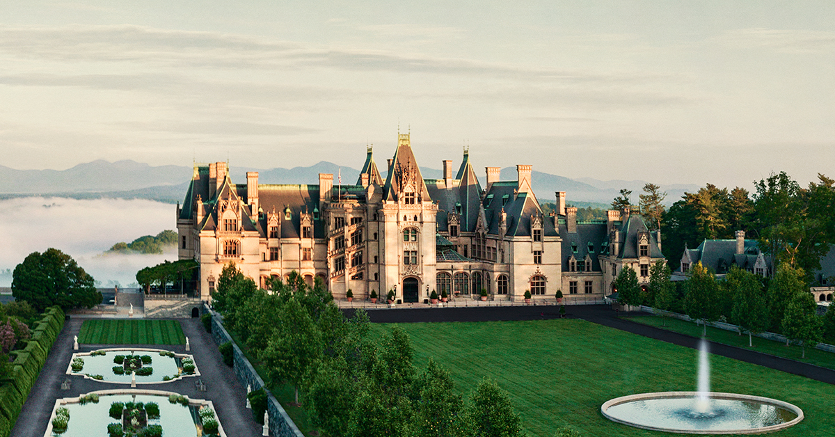 Enjoy Biltmore virtual tours that showcase the house, gardens, and grounds