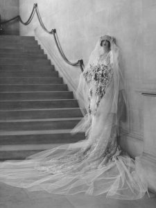 Cornelia Vanderbilt wedding day