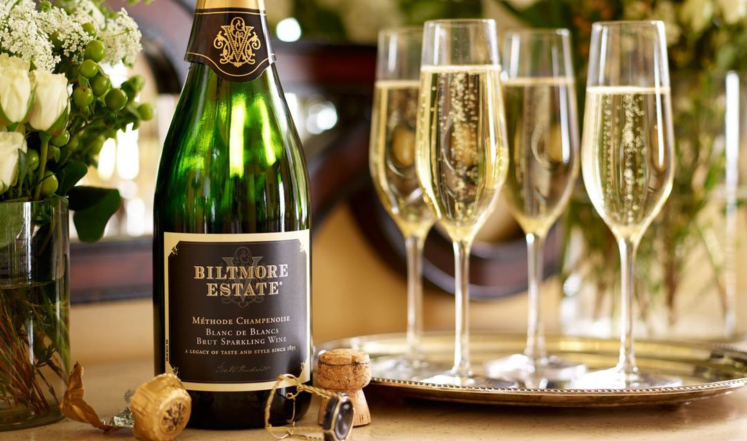 Celebrate with Biltmore sparkling wines