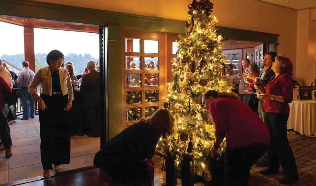 Vanderbilt Wine Club Christmas party