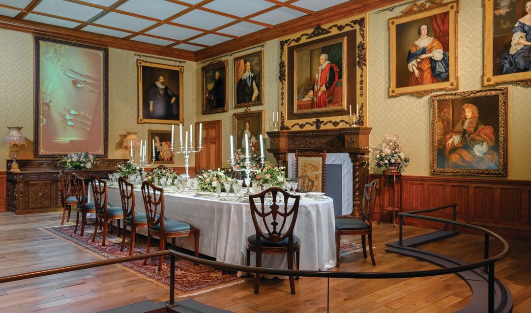 The Crawleys' Dining Room
