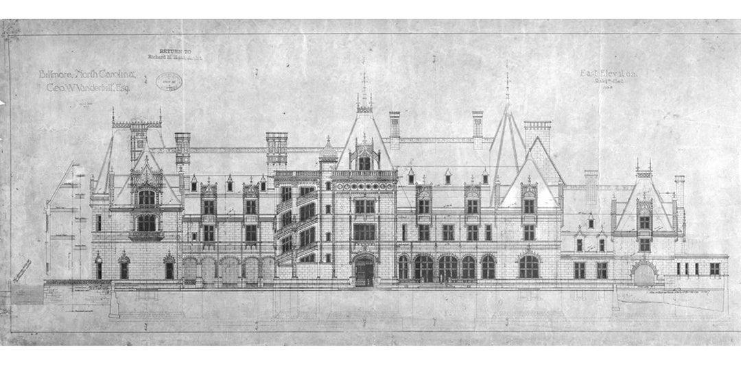 Sketch of Biltmore House