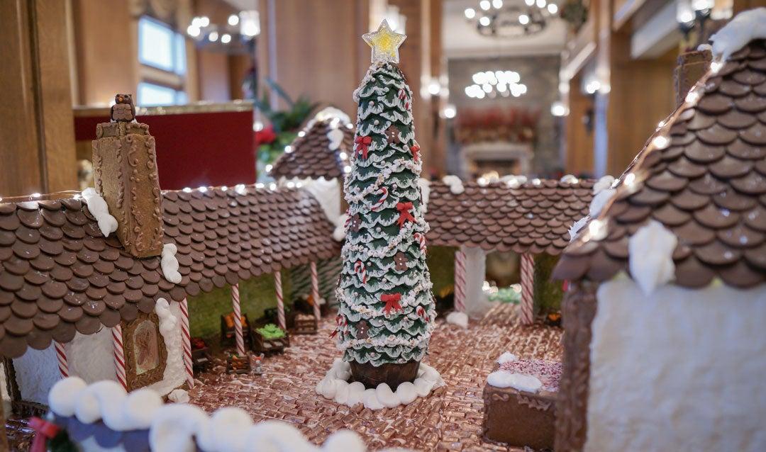 Gingerbread cottage at The Inn on Biltmore Estate