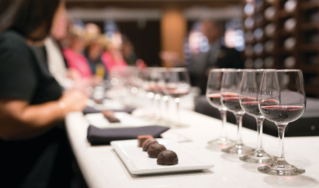 Biltmore Red Wine and Chocolate Tasting at the Winery