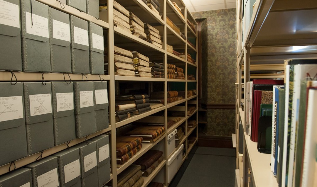 Archival Documents stored in Biltmore's Collection