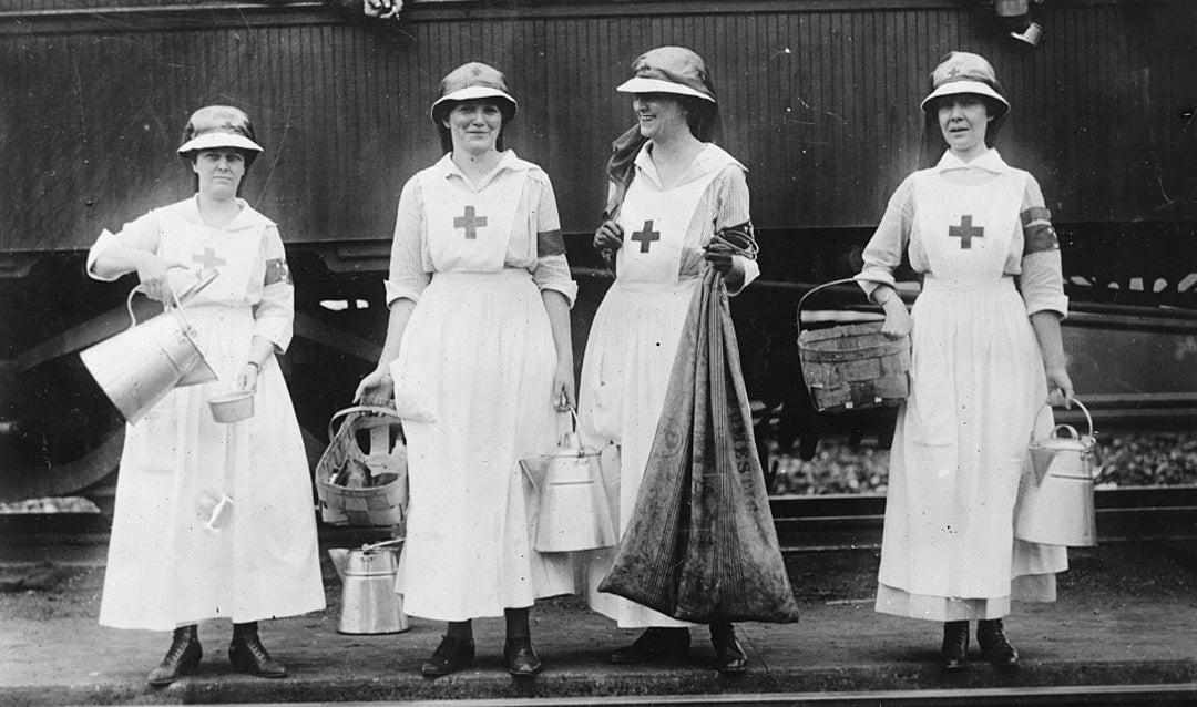 Edith Vanderbilt and Red Cross