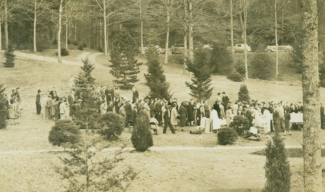 Azalea Garden Ceremony, 1940