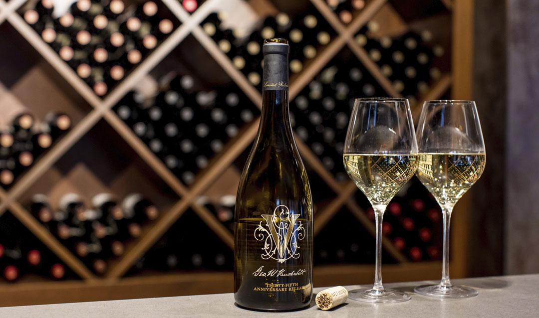 Biltmore Winery celbrates 35 years with a special Chardonnay