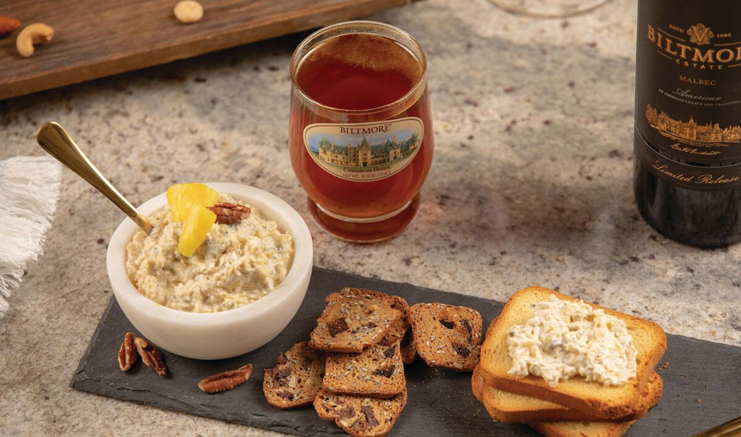 Biltmore honey, spreads, and wine