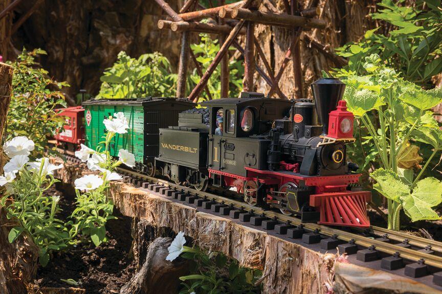 Biltmore Gardens Railway in Antler Hill Village at Biltmore