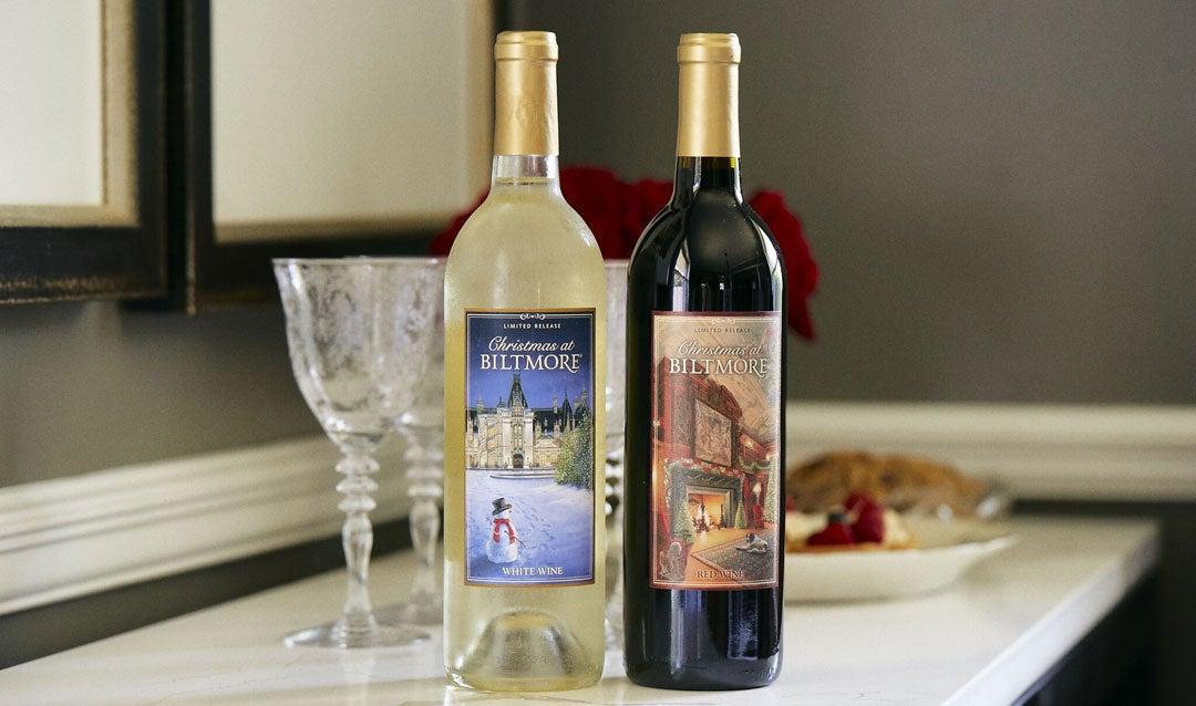 Fans Choose Our 2020 Christmas Wine Labels   Biltmore