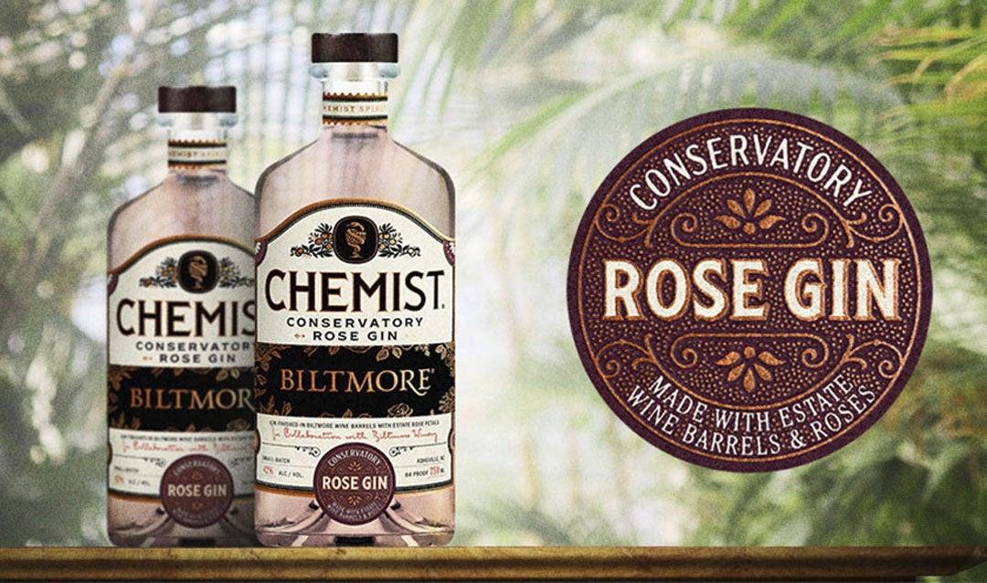 Chemist Conservatory Rose Gin