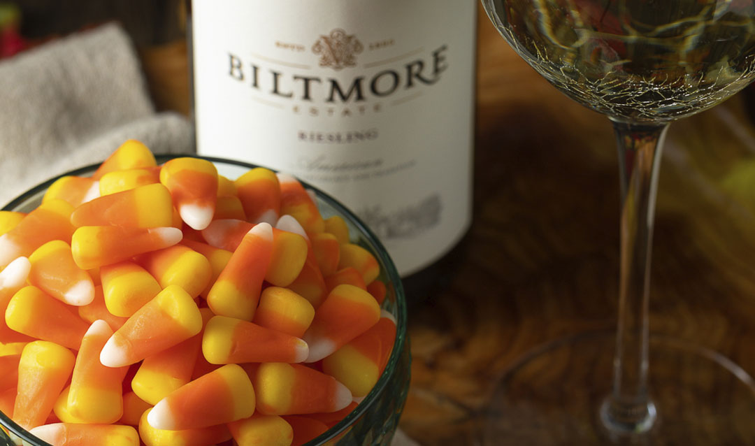 Halloween How-to: Pairing Biltmore wine with candy corn