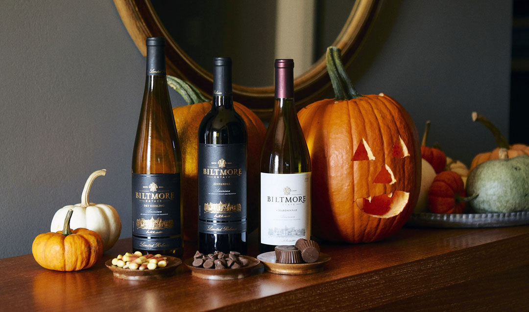 Halloween how-to: pairing Biltmore wines with classic candy
