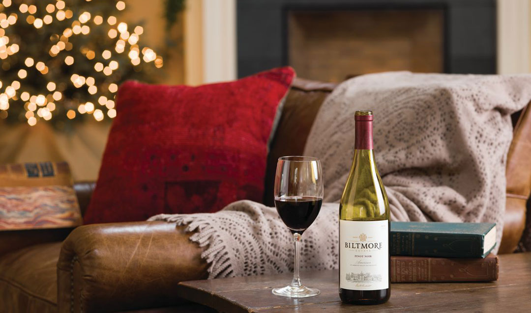 Celebrate Christmas with Biltmore wines