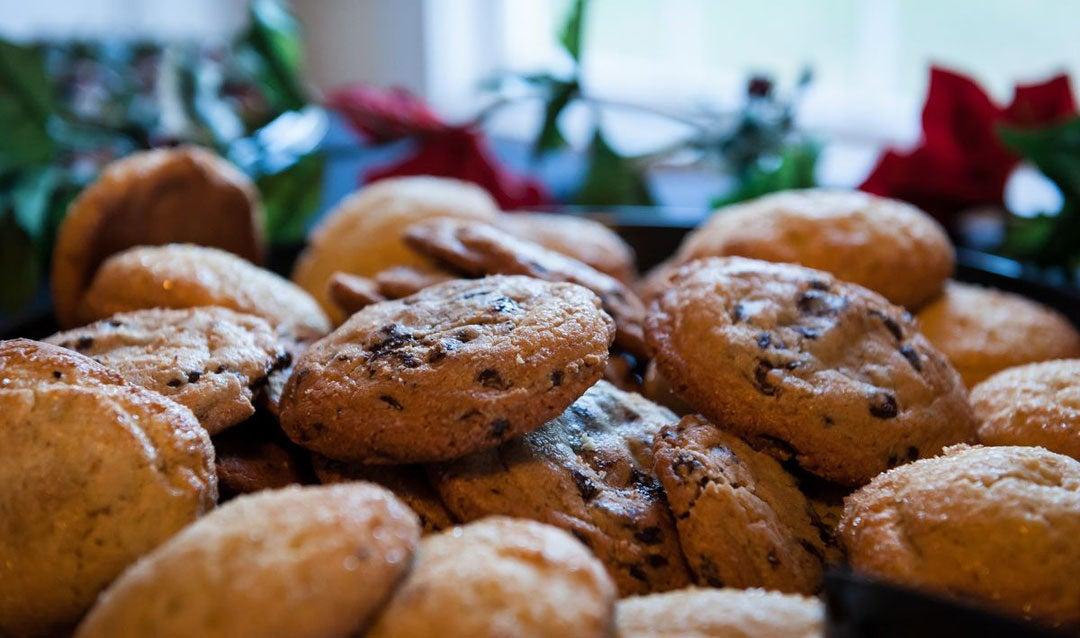 Pair Biltmore wines with cookies like these orange drop cookies
