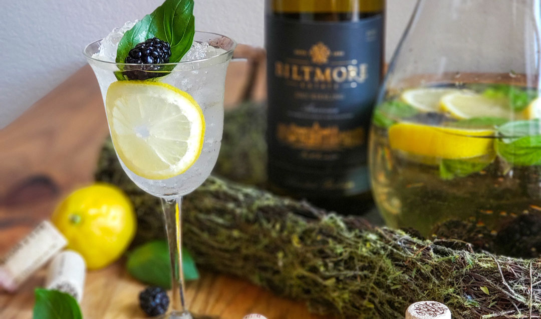 Wine and tonic cocktail with Biltmore Estate Limited Release Riesling
