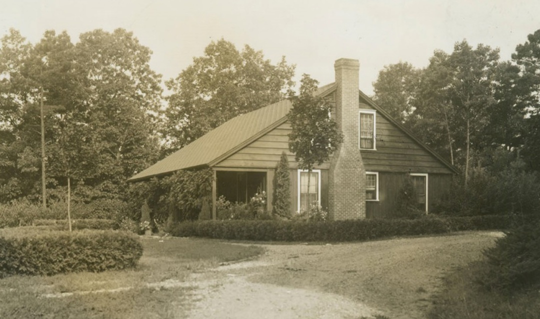Archival image of Dairy Foreman's Cottage