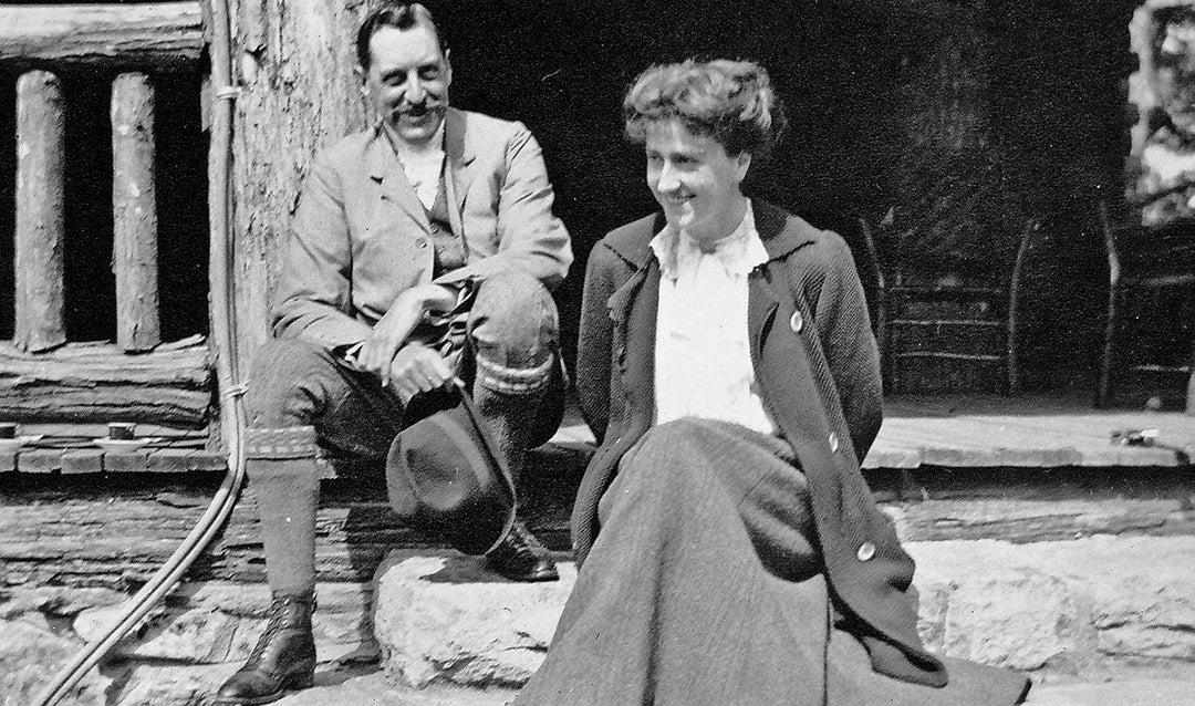 George and Edith Vanderbilt at buckspring Lodge