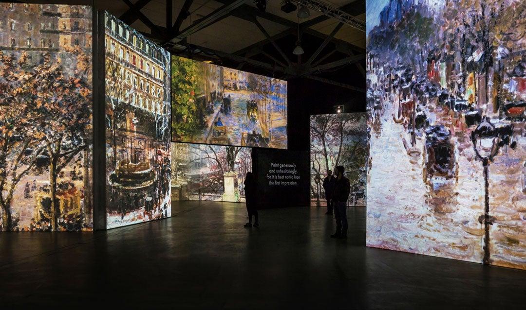 Monet & Friends multi-sensory exhibition