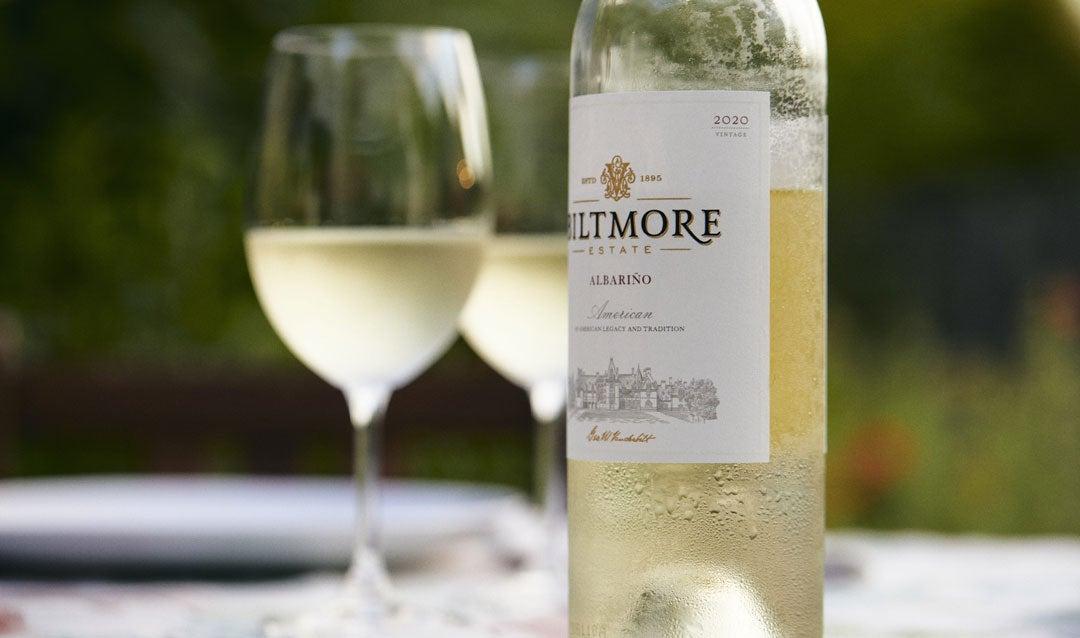 Biltmore Estate Albariño white wine