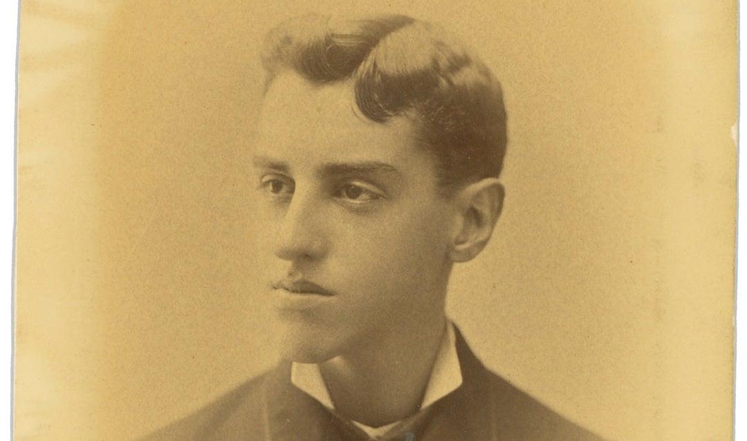 Portrait of young George Vanderbilt, 1878