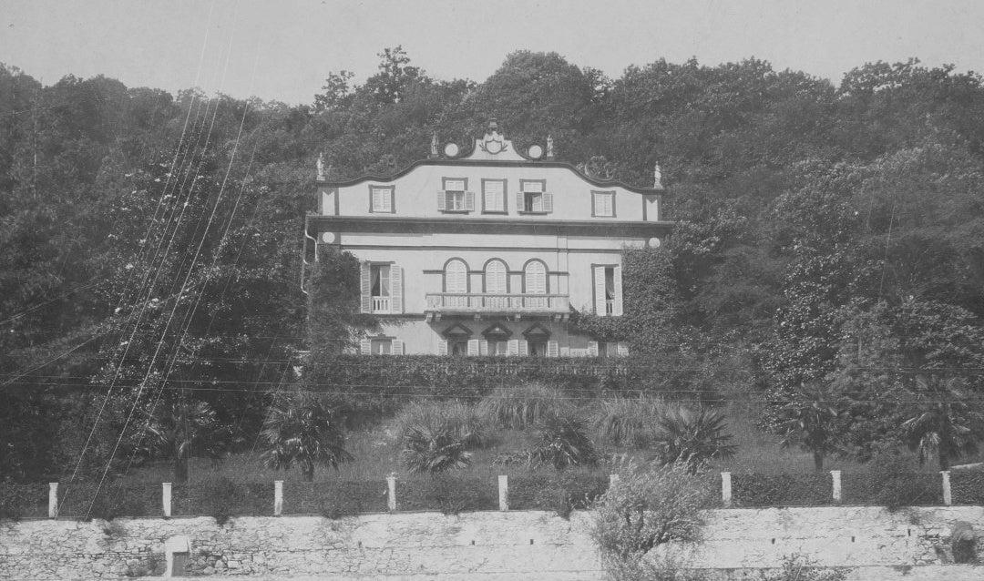 George and Edith Vanderbilt's honeymooon villa, 1898