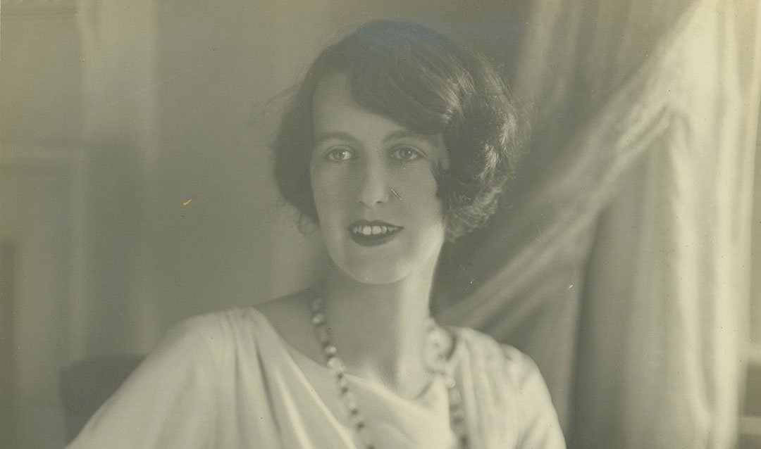 Cornelia Vanderbilt Cecil around age 25, 1925